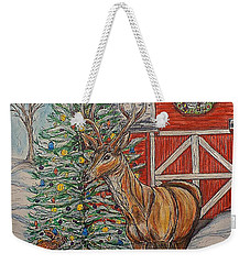 Peaceful Noel Weekender Tote Bag