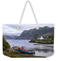 Weekender Tote Bag featuring the photograph Peaceful Plockton by Jacqi Elmslie