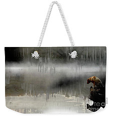 Weekender Tote Bag featuring the photograph Peaceful Reflection by Claire Bull