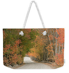 Weekender Tote Bag featuring the photograph Peaceful Sierra Morning by Sandra Bronstein
