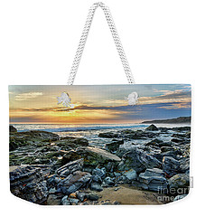 Peaceful Sunset At Crystal Cove Weekender Tote Bag