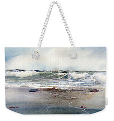 Peaceful Surf Weekender Tote Bag