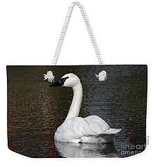Peaceful Swan Weekender Tote Bag