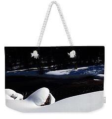 Peaceful Winter Scene Weekender Tote Bag by C Sitton