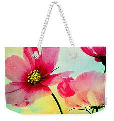 Weekender Tote Bag featuring the digital art Peacefulness by Klara Acel