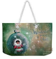 Peace,love,joy Weekender Tote Bag
