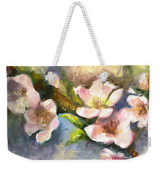 Peach Blossoms Weekender Tote Bag