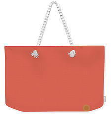 Peach Dawn - Vertical Weekender Tote Bag