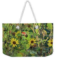 Peach-faced Lovebird 5890-092517-1 Weekender Tote Bag