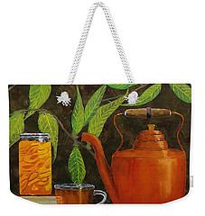 Peach Tea Weekender Tote Bag