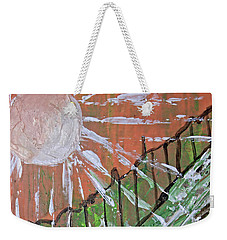 Peachy Day Weekender Tote Bag