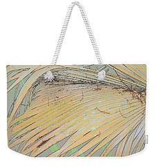 Peachy Palm Weekender Tote Bag