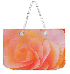 Peachy Perfection Weekender Tote Bag