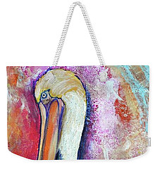Peacock Envy Weekender Tote Bag