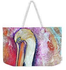 Peacock Envy Weekender Tote Bag