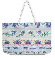 Peacock Pattern Weekender Tote Bag