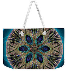 Peacock Power Weekender Tote Bag