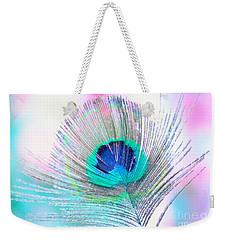 Peacock Pride Weekender Tote Bag