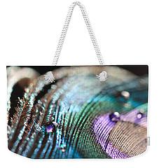 Peacock Swirls Weekender Tote Bag