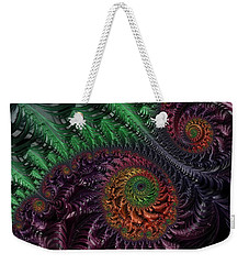 Peacock's Eye Weekender Tote Bag
