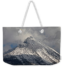 Weekender Tote Bag featuring the photograph Peak by Cathie Douglas