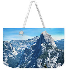 Weekender Tote Bag featuring the photograph Peak Of Half Dome- by JD Mims