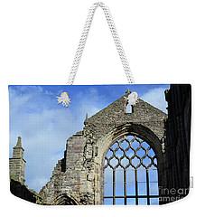 Peak Ruins Of Holyrood Abbey Weekender Tote Bag by DejaVu Designs