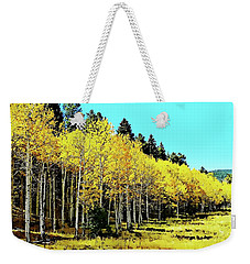 Peak To Peak Fall Glory Weekender Tote Bag by Joseph Hendrix