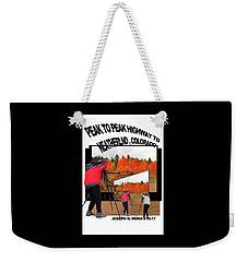 Peak To Peak Highway Weekender Tote Bag