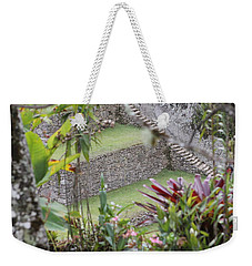Peeking In At Machu Picchu Weekender Tote Bag