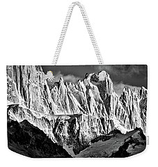Peaks Next To Fitz Roy #2 - Patagonia Weekender Tote Bag by Stuart Litoff