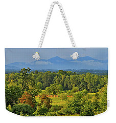 Peaks Of Otter After The Rain Weekender Tote Bag by The American Shutterbug Society