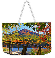 Peaks Of Otter Bridge Weekender Tote Bag