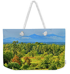 Peaks Of Otter Rainstorm Weekender Tote Bag