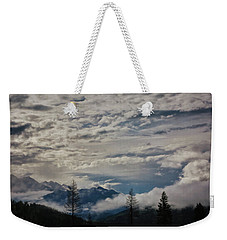Peaks Through Pillows Weekender Tote Bag