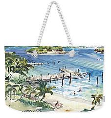 Peanut Island Weekender Tote Bag