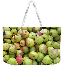 Pear Harvest Weekender Tote Bag