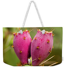 Weekender Tote Bag featuring the photograph Pear O Fruit V07 by Mark Myhaver