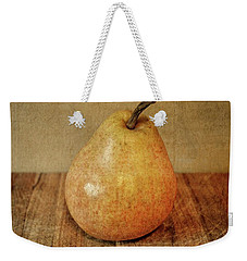 Pear On Cutting Board 3.0 Weekender Tote Bag