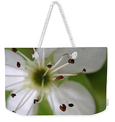 Pear Tree Flower Weekender Tote Bag