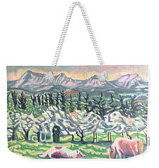 Pear Trees Weekender Tote Bag
