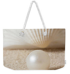 Pearl And Shell Weekender Tote Bag