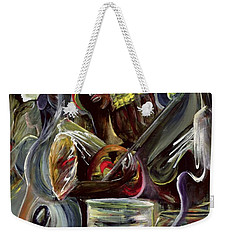 Pearl Jam Weekender Tote Bag by Ikahl Beckford