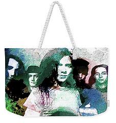 Pearl Jam Portrait  Weekender Tote Bag by Enki Art