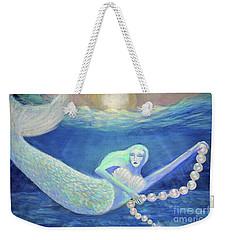 Pearl Of The Sea Weekender Tote Bag
