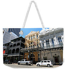 Pearl Oyster Bar Weekender Tote Bag by Steven Spak