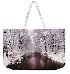 Pearlescent Weekender Tote Bag by Jessica Jenney