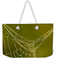 Pearlescent Weekender Tote Bag by Liz Alderdice