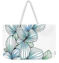 Pearlescent Plume Weekender Tote Bag