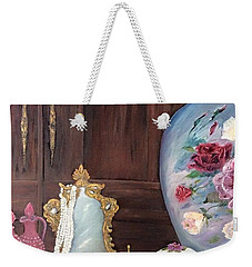 Pearls And Lace Weekender Tote Bag